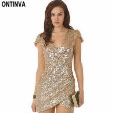 gold party dress sequin dress women party dresses black gold vestidos de
