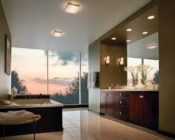 good design bathroom lights with large bathtub and large