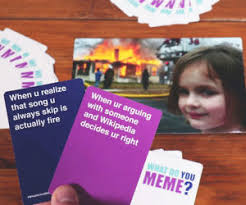 Cards Meme - what do you meme card game