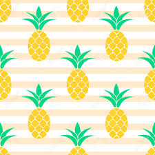 summer pastel pineapple seamless design pattern for bed linen
