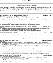 Sample Resume For Lawyer by Sample Resume For Attorney Free Resumes Tips