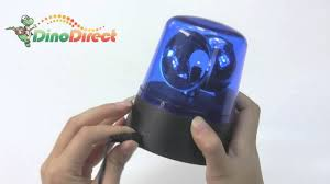 battery operated rotating disco beacon light from