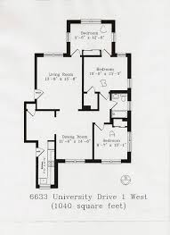 university drive floor plans washington university in st louis