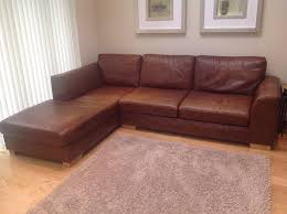 Marks And Spencer Leather Sofas Marks And Spencer Leather Tribeca Corner Sofa In Wallsend Tyne
