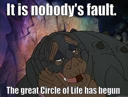 Land Before Time Meme - circle of life land before time quickmeme
