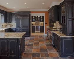 black kitchen furniture how to distress kitchen cabinets black nrtradiant com