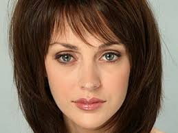 ousting shoulder length hairstyles bangs medium hair styles
