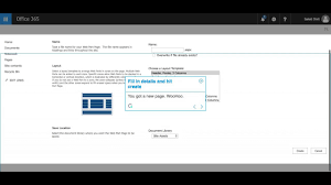 add a page in sharepoint online sharepoint office365