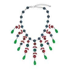 sapphire emerald necklace images Sapphire ruby emerald drop necklace jpg
