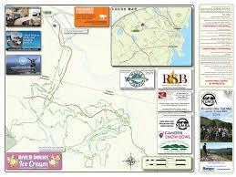 map of camden maine mountain biking camden snow bowl