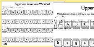 printable alphabet worksheets uk upper case and lower case matching worksheet alphabet upper