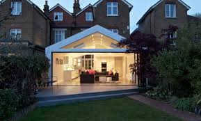 Kitchen Diner Extension Ideas A Gable Roof Extension With A Modern Twist As The Contemporary