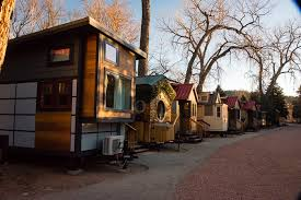 vacation in a tiny house the hobbit house a tiny house resort vacation lyons co
