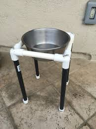 Millan Patio Furniture by Pvc Dog Bowl Holder Easily Assembles And Breaks Down Good For