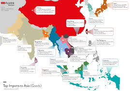 World Wide Map Asia U0027s Top Imports From Aus U0026 World Wide Asialink Business