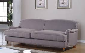 Mid Century Modern Sleeper Sofa by Caster Mid Century Modern Linen Sofa Sofamania