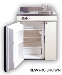 Space Saving Appliances Small Kitchens Acme Res Compact Kitchen With Sink Compact Refrigerator And