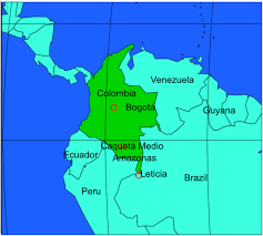 Colombian Map Colombian Traditional Medicines I Growing Curiosity