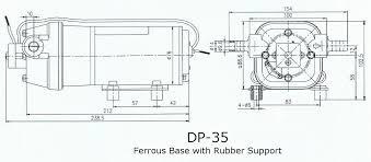 high pressure diaphragm pump dp 35 24v rainwater collection