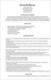 maintenance resume template new maintenance resume template building maintenance resume sle