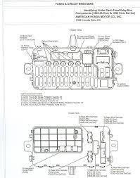 honda civic 2006 fuse box 1993 accord ex 4dr dash fuse diagram honda tech pertaining