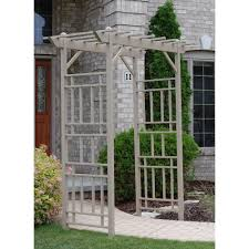wood arbors trellises garden center the home depot american style