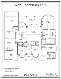 small 5 bedroom house plans one story 5 bedroom house plan inspirational open floor house plans