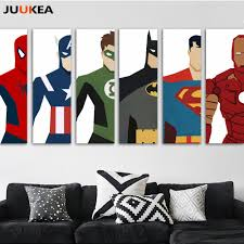 superhero home decor buy superman cartoon picture and get free shipping on aliexpress com