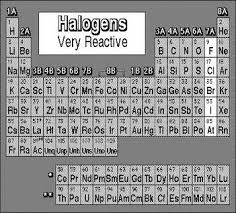 Halogen On Periodic Table Periodictable Mrstaylor P6 Halogen