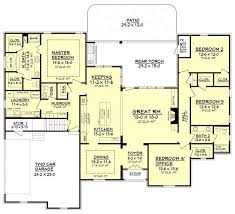 european style house plan 4 beds 2 5 baths 2617 sq ft 283 best house plans images on pinterest house floor plans floor