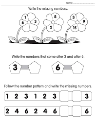 write the missing numbers download free write the missing