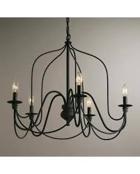 Wire A Chandelier New Savings On Rustic Wire Chandelier Gray Metal By World Market