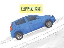 3 ways to drive uphill wikihow