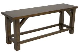 farmhouse counter height bench mor furniture for less
