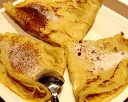 cuisine crepe pancakes receipt