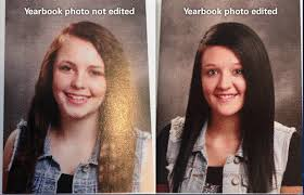 find yearbook photos utah school photoshopped yearbook photos to make them look