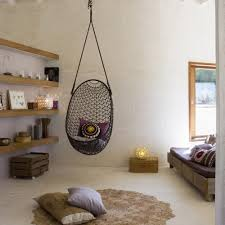 Swing Indoor Chair Hanging Swing Chair Indoor Ceiling Chairs Ideas Hammock For Bedroom