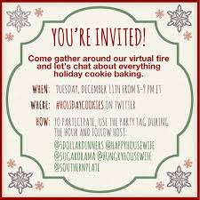holiday cookie exchange invitation wording cogimbo us