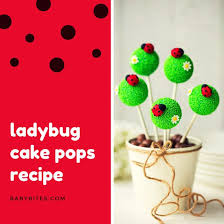 ladybug cake pops ladybug cake pops social media graphic templates by canva