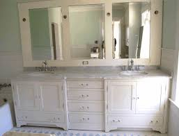 built in vanity flower patterned bathroom floor tile rectangular