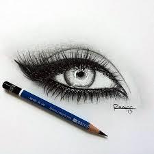 drawn eyeball art pencil and in color drawn eyeball art
