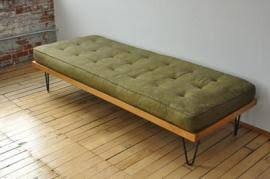 Mid Century Daybed Ship A Mid Century Day Bed 1960 Eames Era Mies Van Der To
