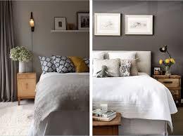 chambre couleur et taupe decoration chambre couleur gris taupe accents tons matériaux