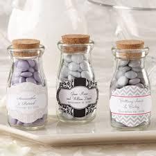 favor jars personalized bridal vintage milk favor jars