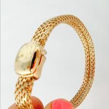 magnetic gold bracelet images 67 off monet jewelry vintage monet gold tone bracelet magnetic jpg