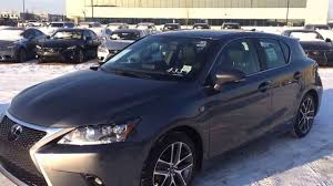 lexus ct200h used car 2014 lexus ct 200h f sport review youtube