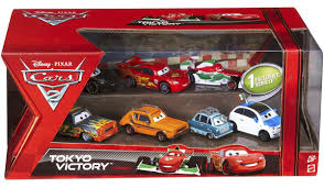 cars sally toy disney cars cars 2 multi packs radiator springs race 7 pack