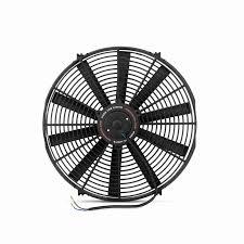 electric radiator fans mishimoto slim electric fan 16