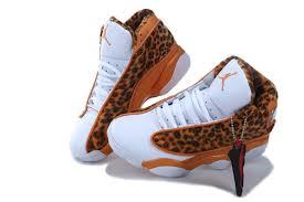 kid jordans kids air 13 yellow leopard white shoes aj 1ajks1300122
