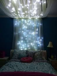 blue string lights for bedroom add some string lights to create an extra whimsical effect 20